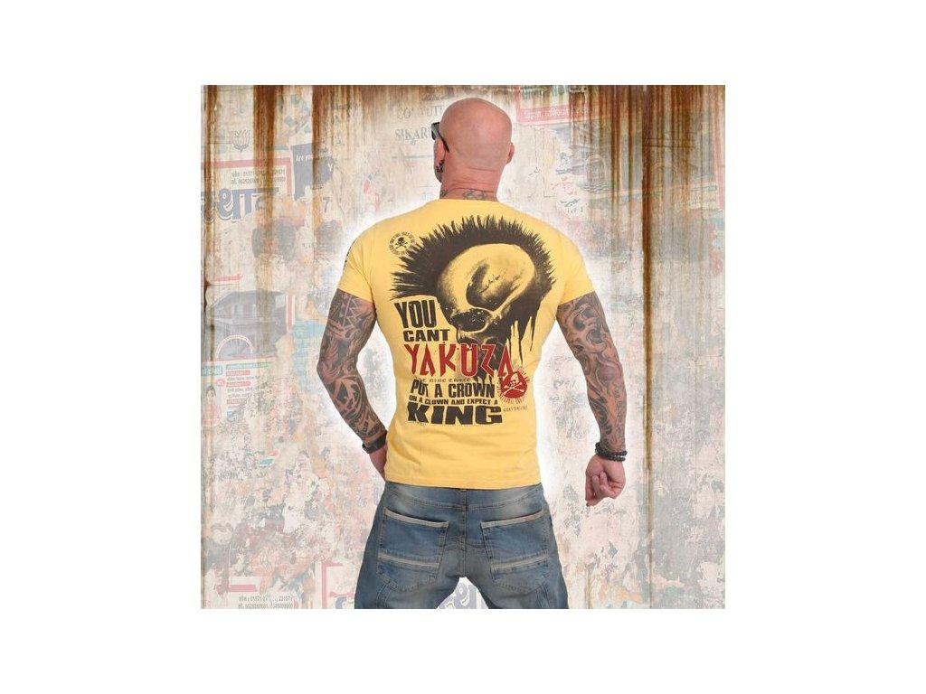 Yakuza DEAD PUNK tričko pánske TSB 14047 pale marigold