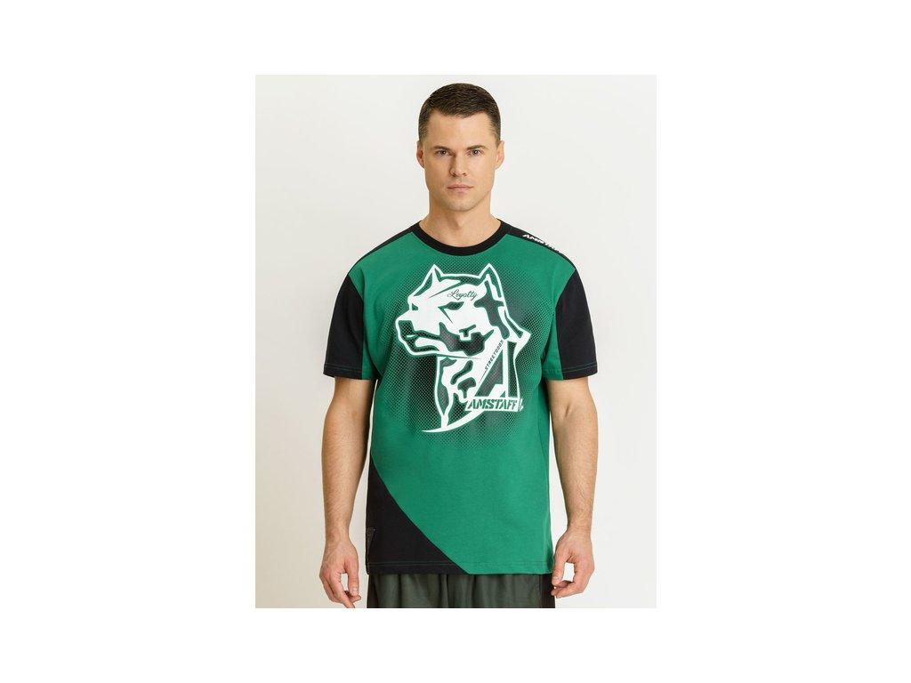 Amstaff tričko SMASH green