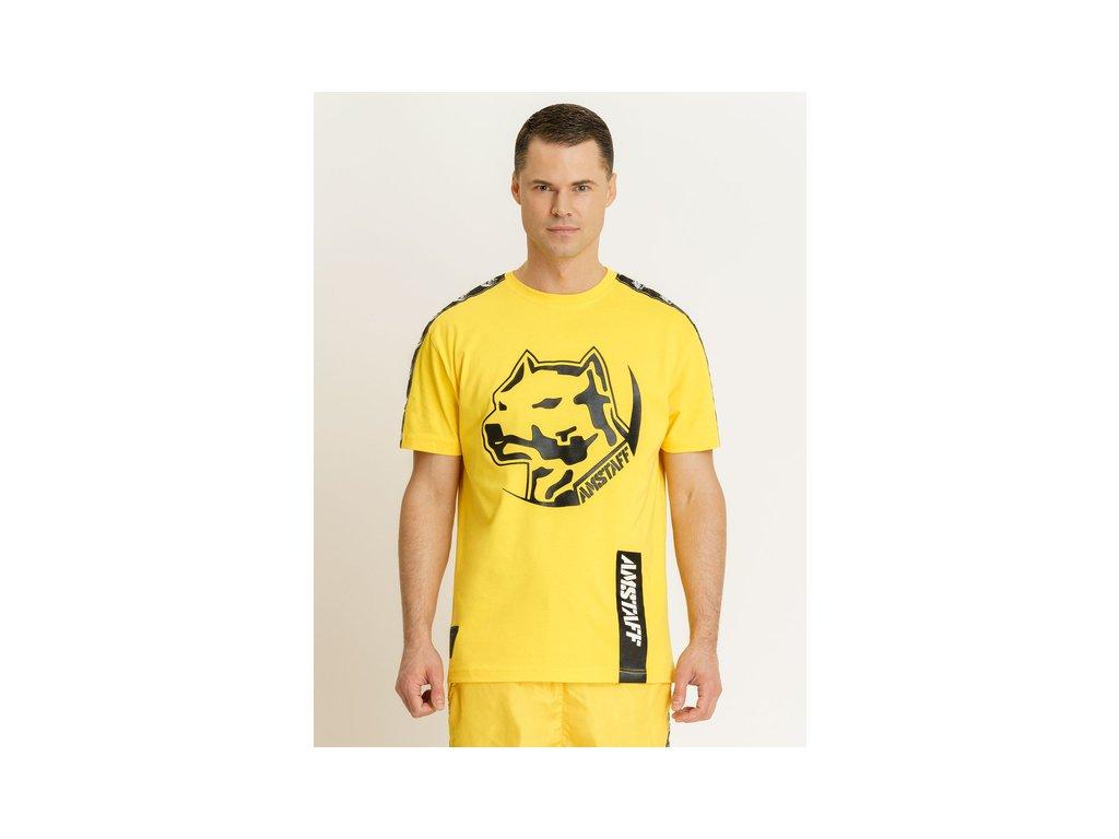 Amstaff tričko ANTAR yellow