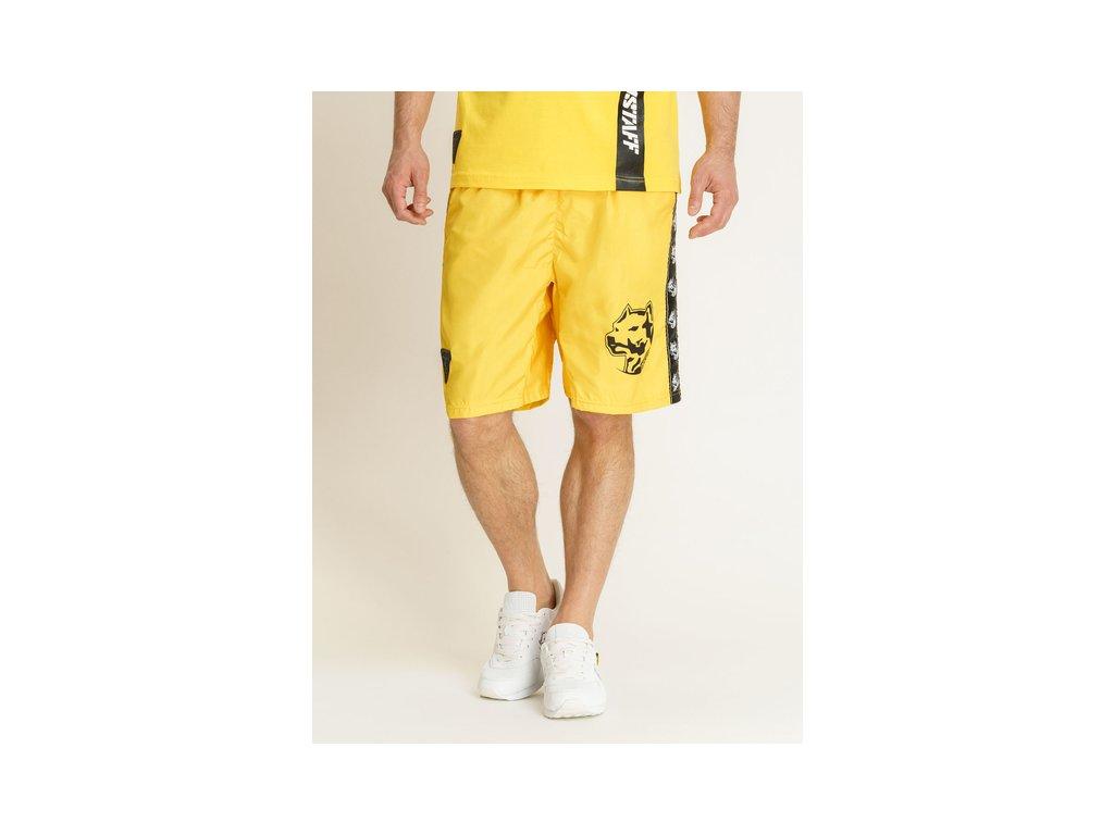 Amstaff ANTAR plavkové šortky yellow