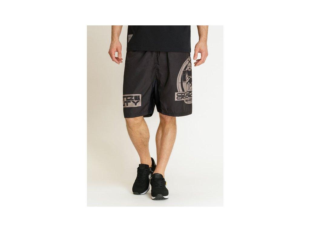 Amstaff CONCRETE plavkové šortky black