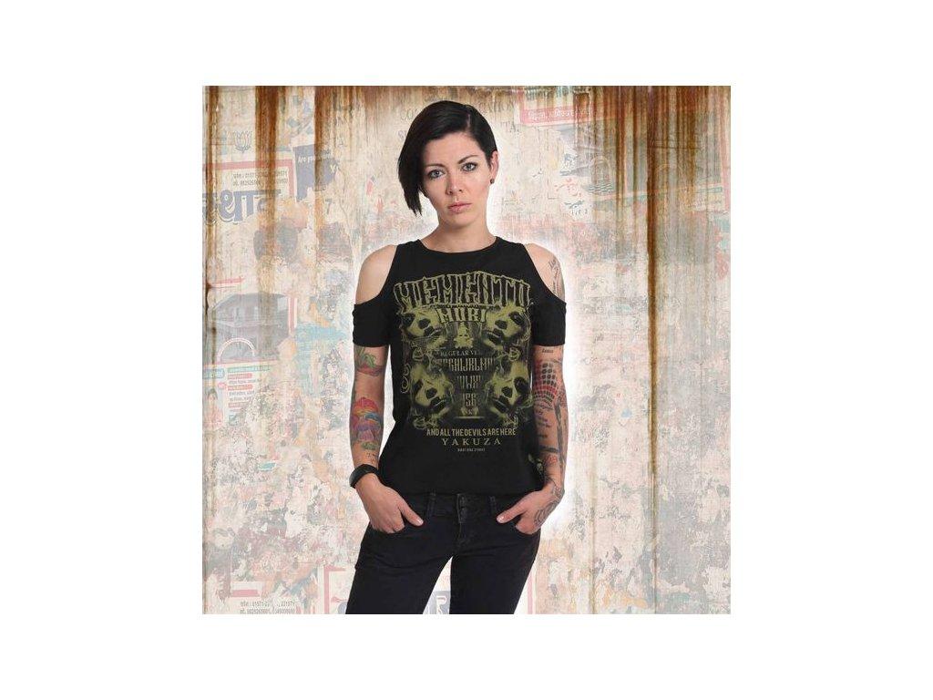 Yakuza MEMENTO MORI dámske tričko GSB 14153 black