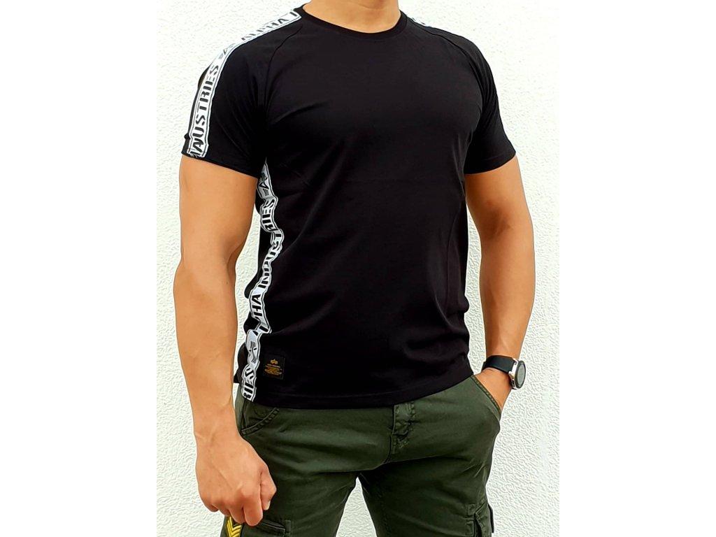 Alpha Industries AI TAPE T black tričko pánske