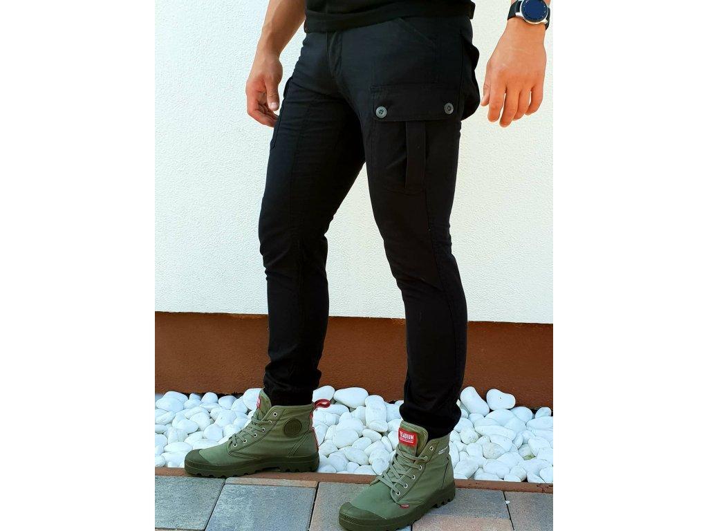 Alpha Industries nohavice Rover Pant black