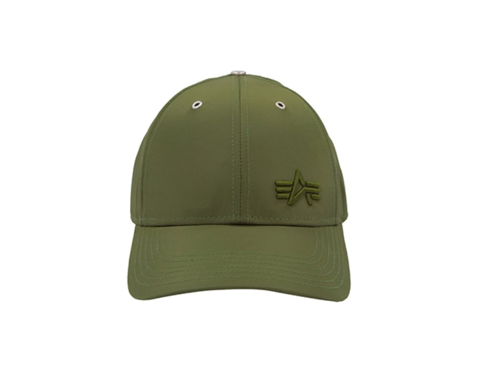 Alpha Industries Small Logo Flight Cap šiltovka dark green