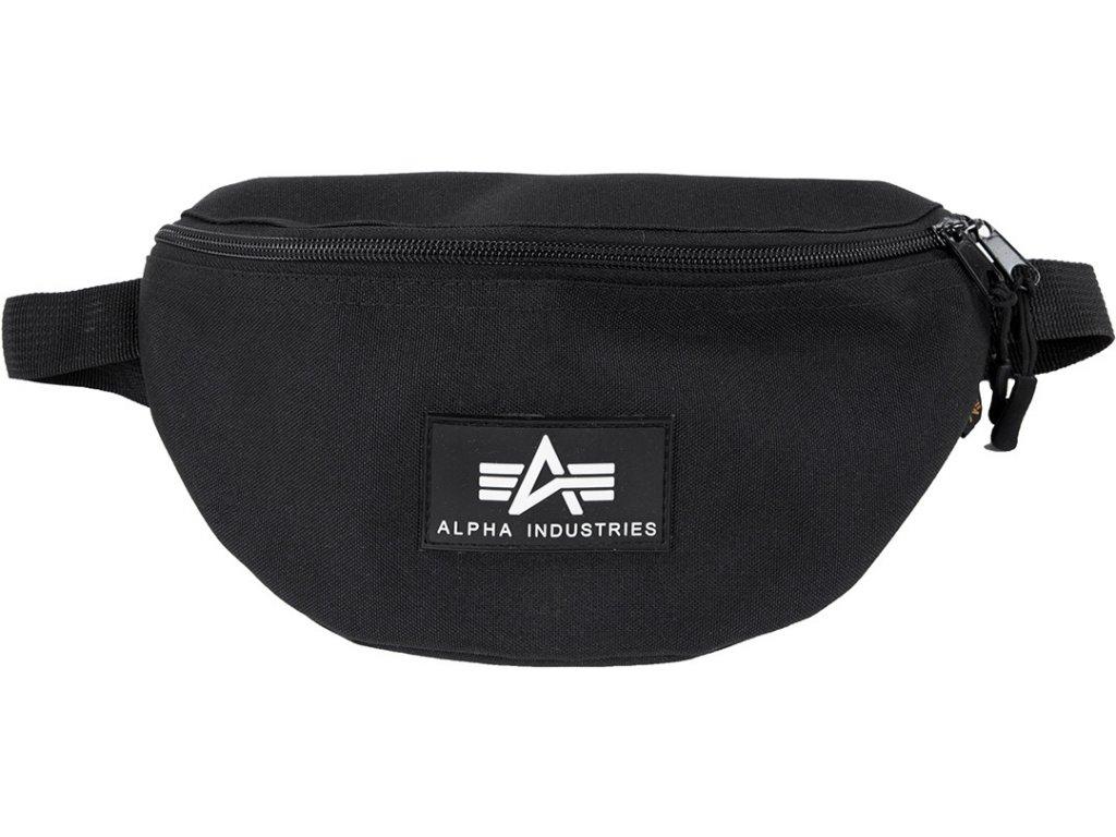 Alpha Industries RubAlpha Industries Rubber Print Waist Bag ľadvinka-taška