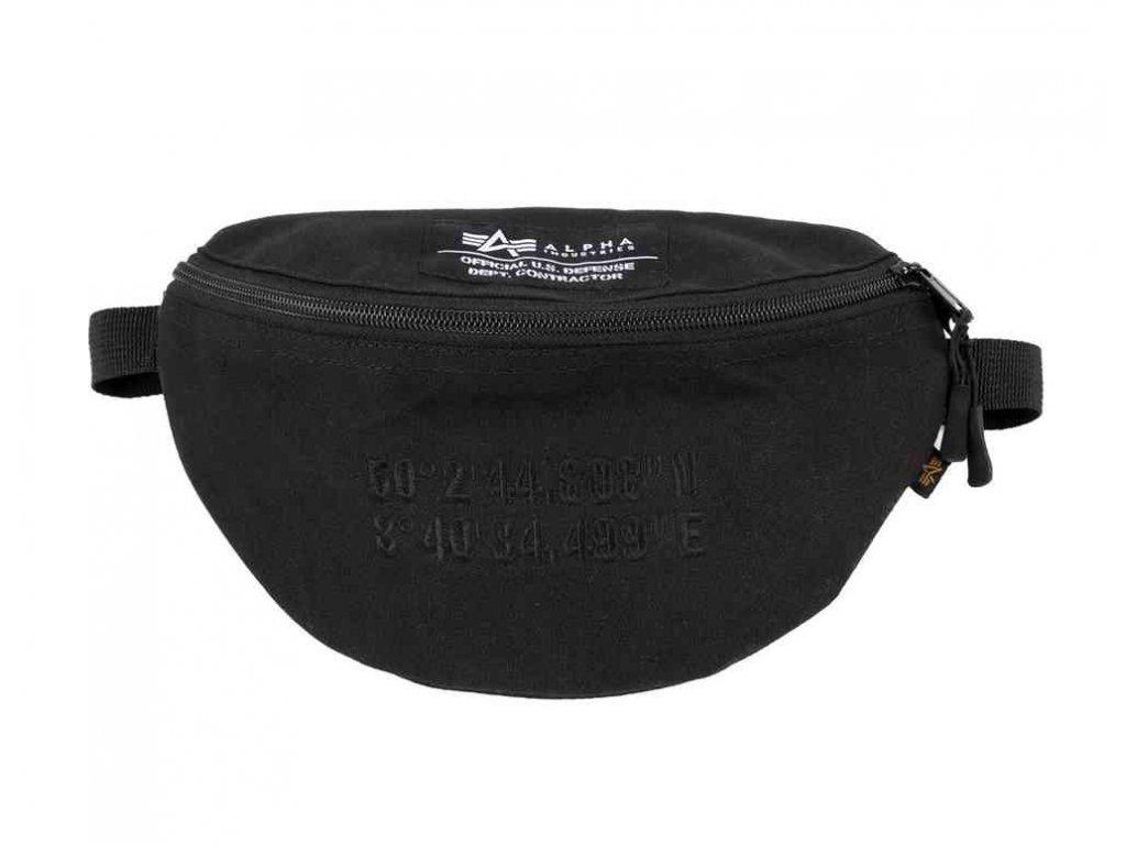 Alpha Industries Coordinates Waist Bag black ľadvinka-taška