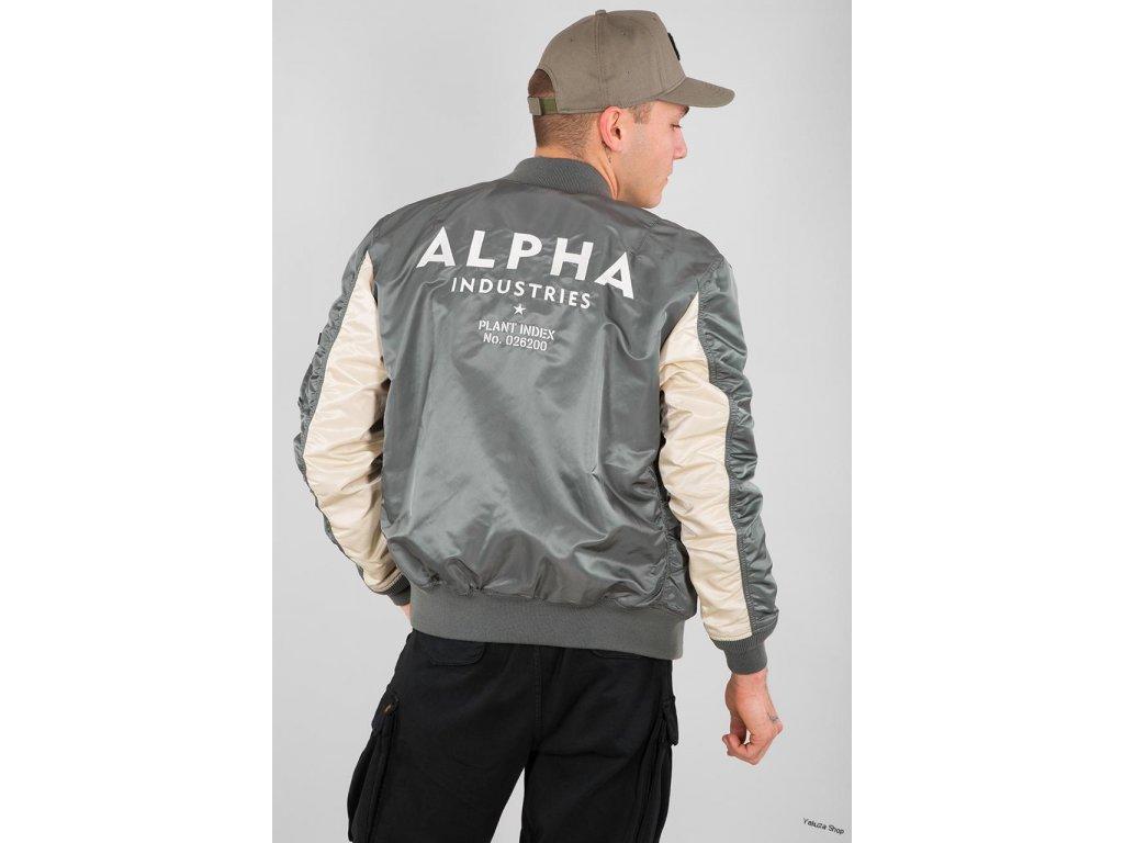 Alpha Industries MAvyrp12 8833Alpha Industries MA 1 TT Custom bunda panska vintage green a