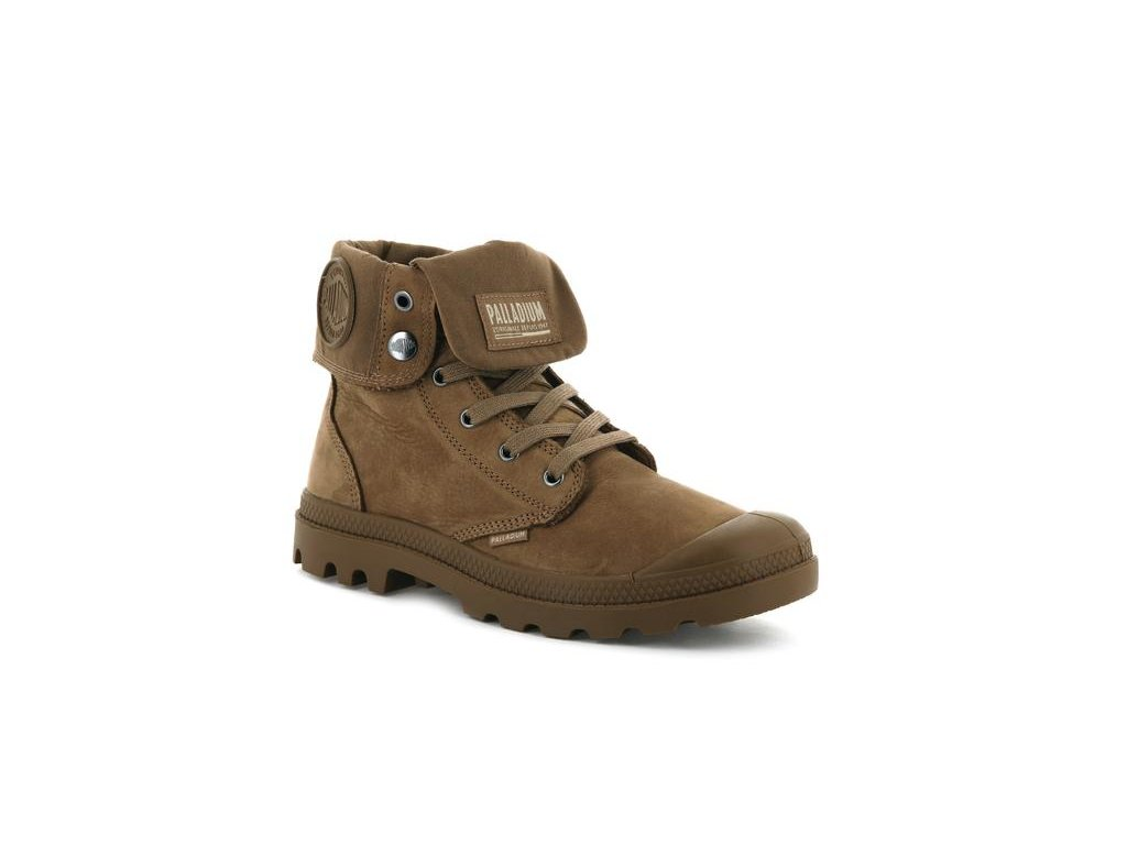 Palladium módne topánky PAMPA BAGGY NUBUCK MAHOGANY