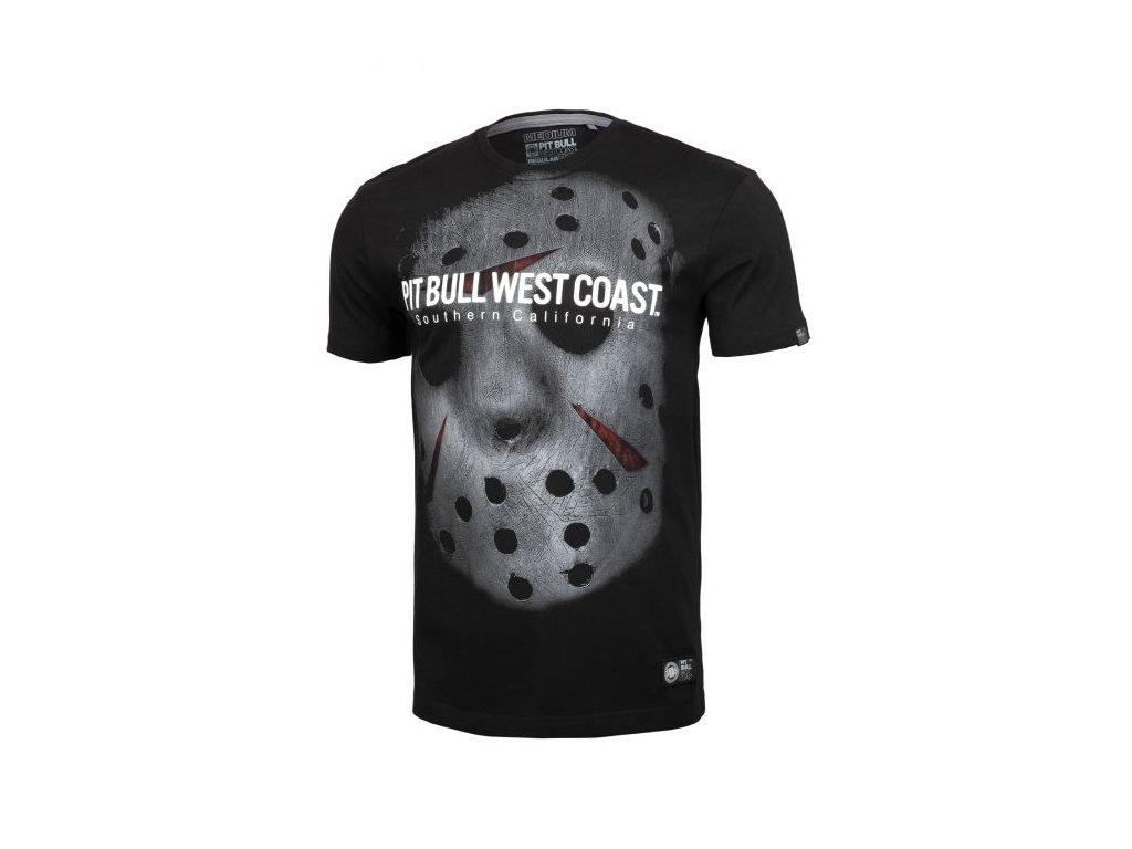 PitBull West Coast tričko pánske TERROR MASK black