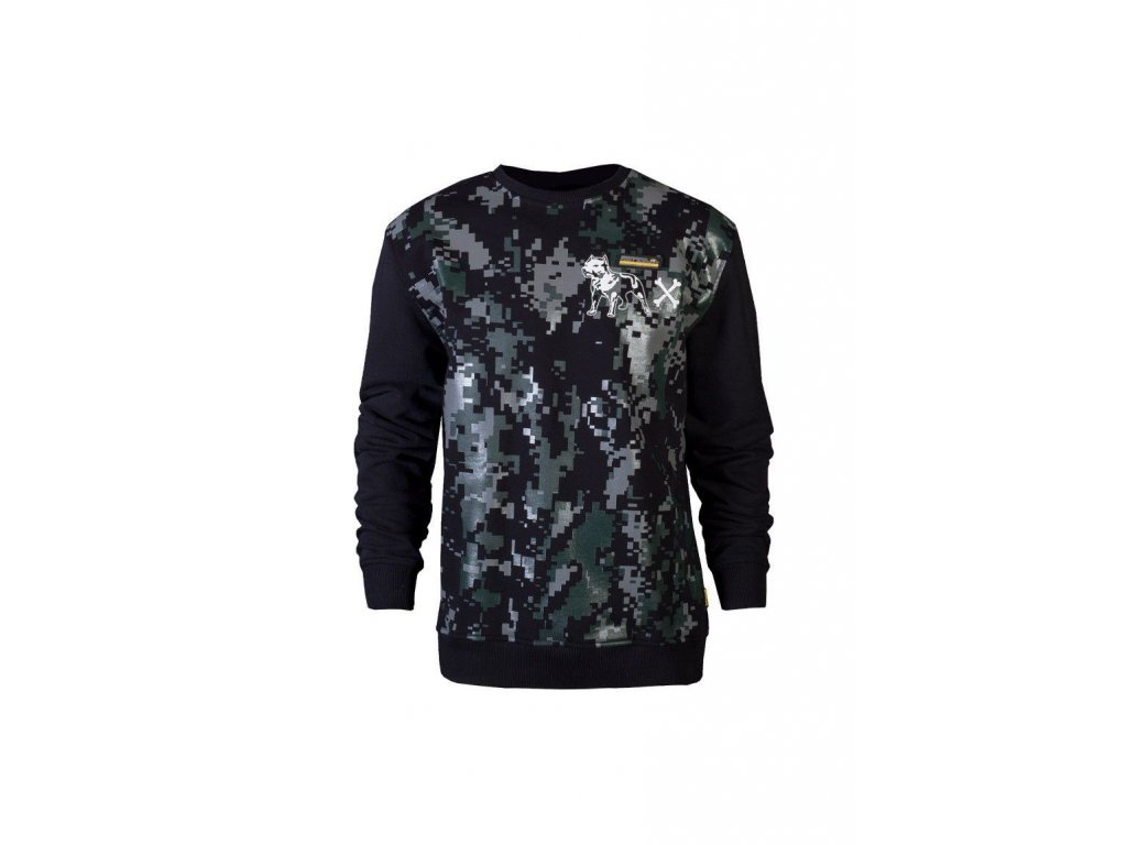 Amstaff KODOR Sweater Black mikina pánska