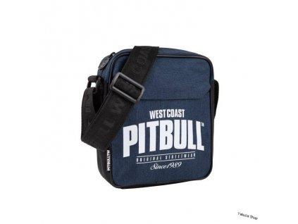 PitBull West Coast taška cez plece since 1989 navy