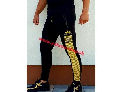 Alpha IndustrAlpha Industries SAFETY LINE JOGGER tepláky black