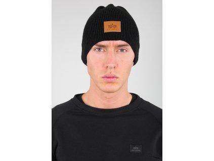 Alpha Industries Knit Beanie čiapka black