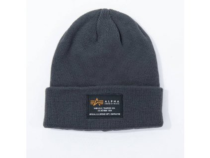 Alpha Industries Crew Beanie čiapka rep grey