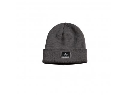 Alpha Industries X Fit Beanie čiapka Rep Grey