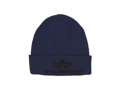 Alpha Industries 3D Beanie rep blue