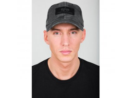 Alpha Industries VLC Cap šiltovka black camo