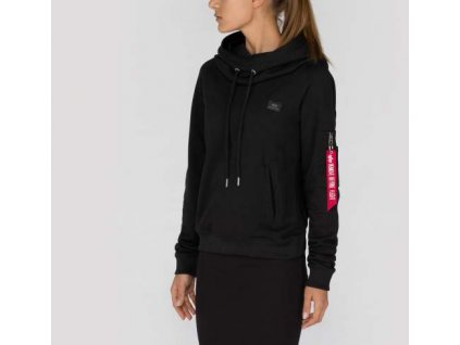 Alpha Industries dámska mikina X-FIT Hoody Wmn Black