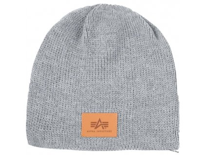 Alpha Industries Knit Beanie čiapka grey