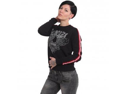 Yakuza mikina dámska 893Classic Sweater GPB 16106 black
