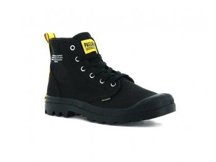 Palladium módne topánky PAMPA HI DARE SAFETY BLACK A