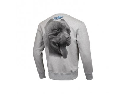 Pitbull West Coast mikina crew Red nose II grey