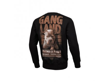Pitbull West Coast mikina crew MUGSHOT black