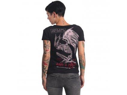 Yakuza dámske tričkoEND WELL BOX FITGSB 16136 black