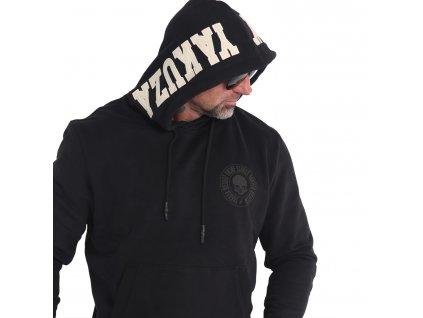 Yakuza HOB893App mikina pánska HOB 16065 black