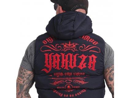 Yakuza vesta FELT LOGO VB 16053 navy