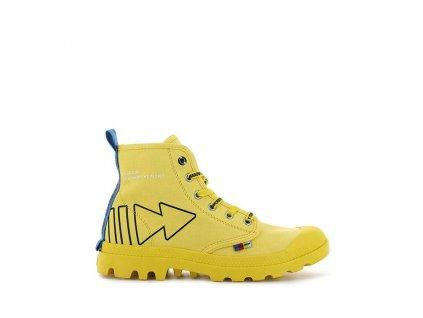 Palladium módne topánky PAMPA DARE REW FWD MAIZE b