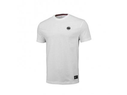 PitBull West Coast tričko pánske REGULAR FIT 210 SMALL LOGO white