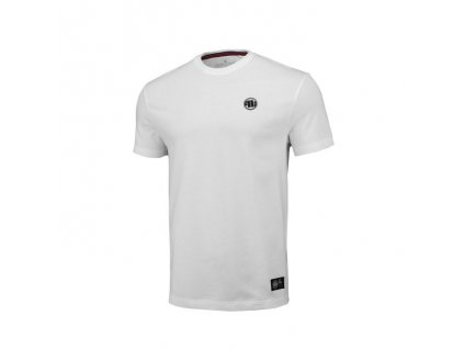 PitBull West Coast tričko pánske REGULAR FIT 210 SMALL LOGO white