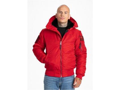 PitBull West Coast zimná bunda ENCINO red 1