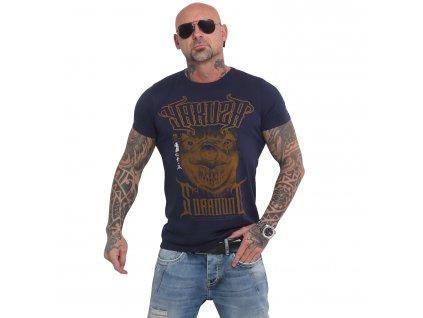 Yakuza SURROUND tričko pánske TSB 16025 mood indigo