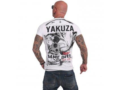 Yakuza HATING CLOWN tričko pánske TSB 17029 white