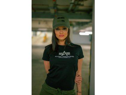 Alpha Industries New Basic T Wmn New Black dámske tričko