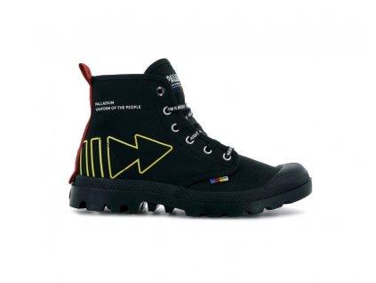 Palladium módne topánky PAMPA DARE REW FWD BLACK