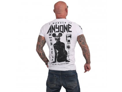 Yakuza ANYONE tričko pánske TSB 17027 white