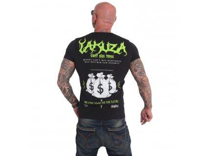 Yakuza BUY HAPPINESS tričko pánske TSB 17034 black