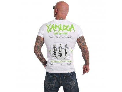 Yakuza BUY HAPPINESS tričko pánske TSB 17034 white