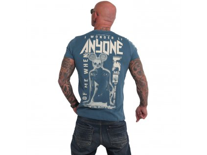 Yakuza ANYONE tričko pánske TSB 17027 mallard blue