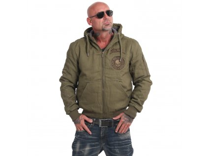 Yakuza zimná bunda pánska ROOKIE WINTER JACKET WJB 16058 burnt olive