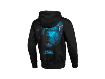 Pitbull West Coast mikina s kapucňou BLUE EYED DEVIL V black