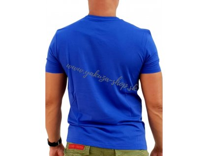 Alpha Industries Basic T Shirt Nautical blue tričko pánske