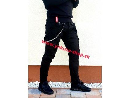 Alpha Industries nohavice UTILITY PANT black