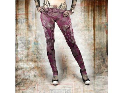 Yakuza MILITARY LADY legíny LEB 10144 camouflage pink
