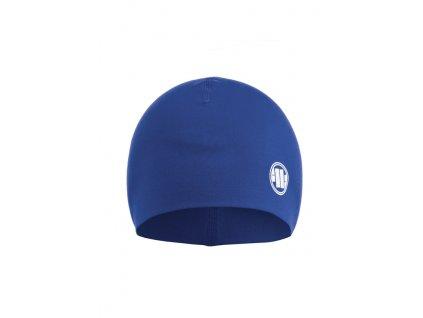 Pitbull West Coast zimná čiapka SMALL LOGO royal blue