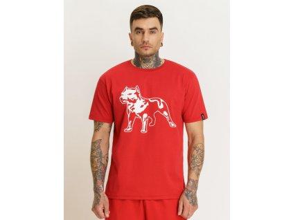 Amstaff tričko LOGO 2.0 red